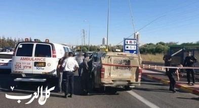 عملية طعن قرب مودعين: إصابة واعتقال فلسطيني
