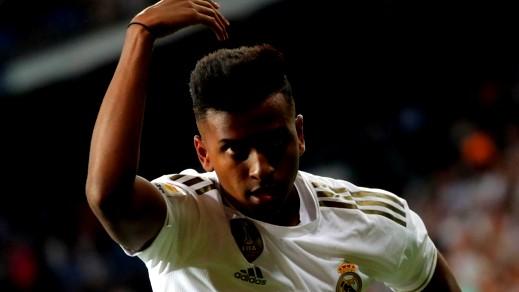 رودريجيو جوس يدخل التاريخ مع أول أهدافه مع ريال مدريد