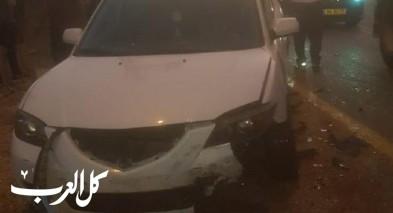 إصابة 3 أشخاص بحادث طرق قرب مفرق شعب