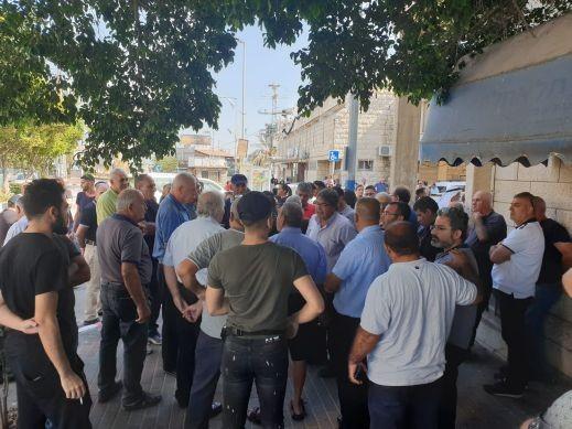 انطلاق التظاهرة في شفاعمرو:الجماهير الشفاعمرية تأبى الا ان تتظاهر