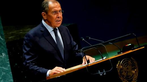 لافروف: سياسة واشنطن تهدد حل الدولتين