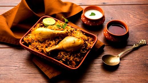 من المطبخ الهندي: برياني الدجاج