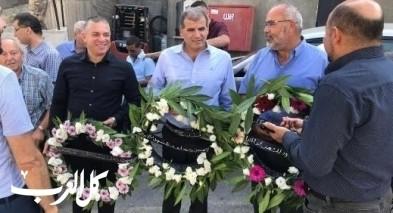 عرابة: أكاليل الزهور تزين اضرحة شهداء هبة القدس