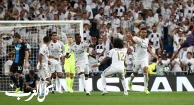 كلوب بروج يفاجئ ريال مدريد ويجبره على نقطة التعادل