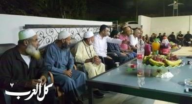 عقد راية الصلح بين عائلات من باقة وجت بأجواء مفرحة