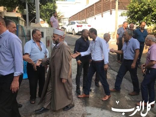 سخنين: زيارة لذوي شهداء هبة القدس والاقصى