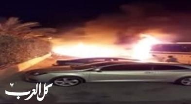 عين ماهل: اندلاع النيران بحافلة دون اصابات