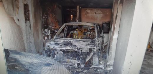 اندلاع حريق بسيارتين في كفرياسيف دون إصابات