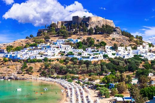 تعرف على جزيرة رودس وأشهر الأماكن السياحية
