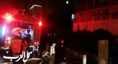 عيلوط: إصابة جرّاء استنشاق دخان حريق