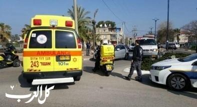 جسرالزرقاء: اصابة طفل (11 عامًا) بجراح متوسطة
