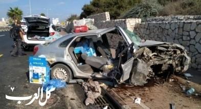 اصابة سيدة (60 عامًا) بجراح متوسطة جراء حادث طرق بحيفا