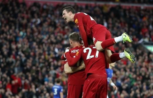 ليفربول يحقق فوزاً قاتلاً على ليستر سيتي في الدوري