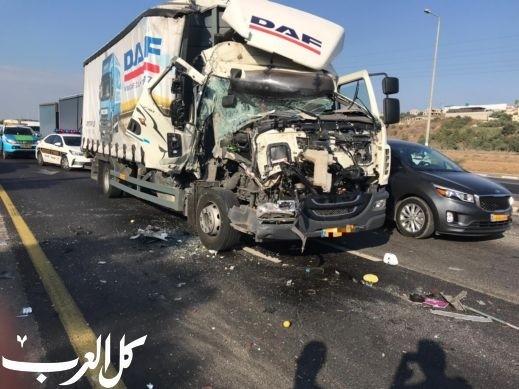 إصابات خطيرة في الحوادث بالمدن: الناصرة برأس القائمة
