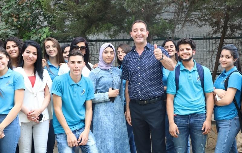 فوز الطالبة عدن ماضي برئاسة مجلس الطلاب في البيان