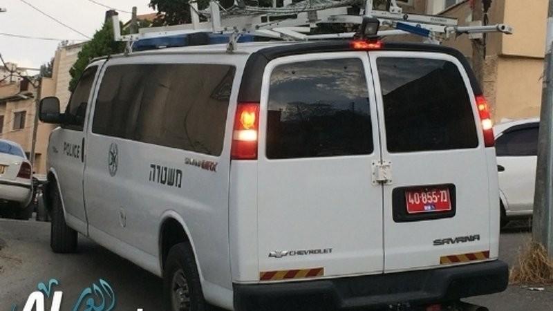 رحوفوت:ضبط مسدس بسيارة بعد إصطدامها بماكنة بمحطة وقود