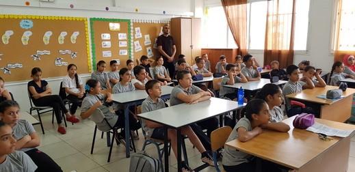 حيفا: إنطلاق أسبوع مناهضة العنف بمدرسة عبد الرحمن الحاج