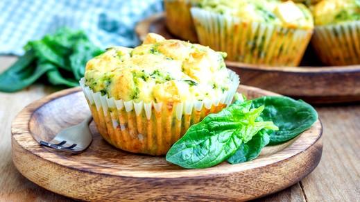 فطور اليوم: مافن البيض بالسبانخ