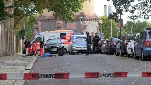 الكشف عن معلومات حول مطلق النار قرب كنيس بالمانيا