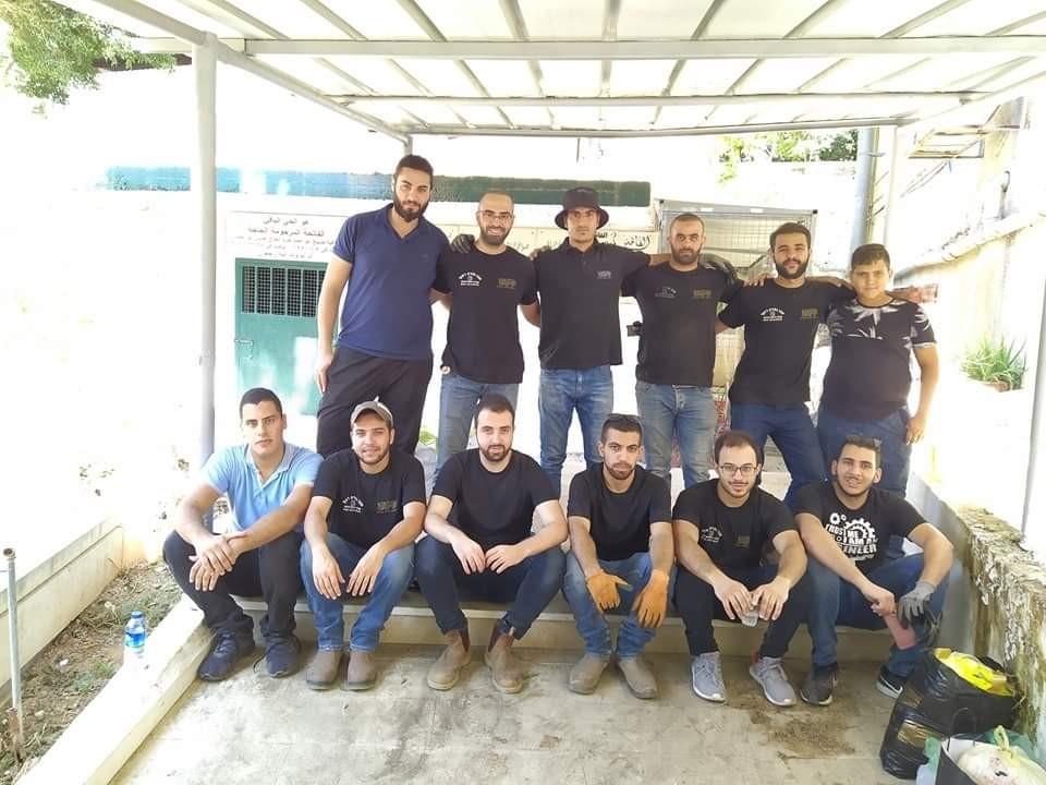 الناصرة: مجموعة رُوّاد الإبداع تقوم بأعمالِ التّنظيفِ