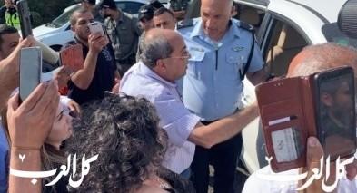 دراجات نارية تابعة للشرطة توقف النائب أحمد الطيبي