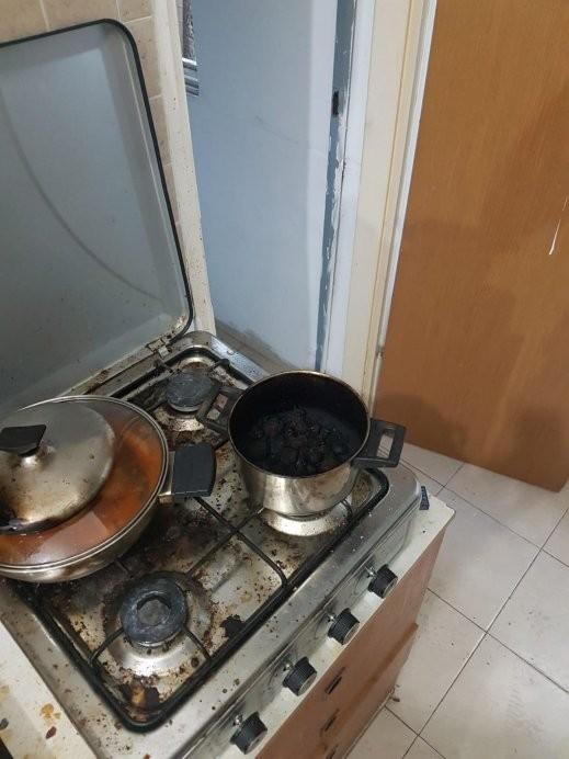 حيفا: نسيان طنجرة على الغاز يتسبب بحريق