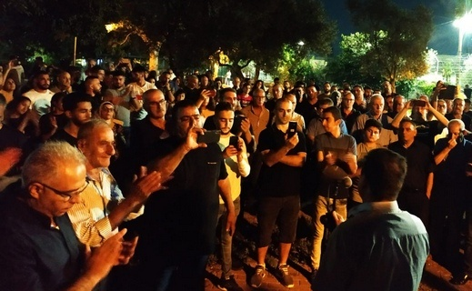 شفاعمرو تتظاهر ضد العنف والجريمة