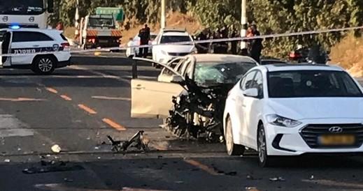 3 إصابات بانفجار سيارة على شارع 65