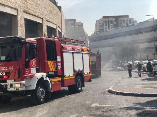 اندلاع حريق داخل مخزن في بلدة حرفيش