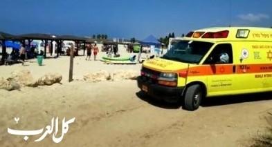 غرق مسن (70 عاما) في أحد شواطئ إيلات ومحاولة إنعاشه