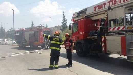يافة الناصرة: اندلاع حريق بين المنازل