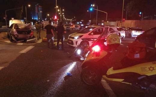 حيفا: أربع إصابات بينها خطيرة إثر حادث طرق