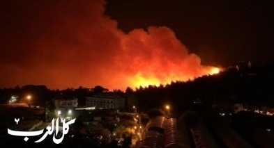قتيل في حرائق لبنان: سلسلة من الحرائق تلتهم اراض