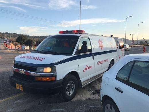 اصابة سائق دراجة هوائية (27 عامًا) من المكر بجراح
