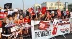 تظاهرة في كفرقاسم ضد العنف والجريمة