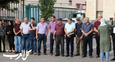كفرمندا: وقفة احتجاجية لموظفي المجلس المحلي