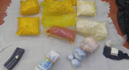 اللد: اعتقال شاب بعد ضبط مخدرات