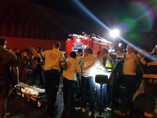 اصابة شابين بجراح خطيرة بحادث طرق قرب القدس