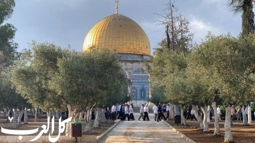 القدس: مئات المستوطنين يقتحمون باحات الأقصى