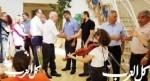 وفد من وزارة المعارف يزور المتنبي في مجد الكروم