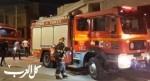 عبلين: اندلاع حريق في محل تجاري