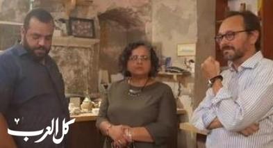 توما - سليمان تستضيف سفير الاتحاد الأوروبي في عكا
