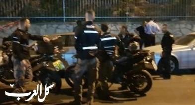 الناصرة:اعتقال مشتبهين بإطلاق نار على رجلين