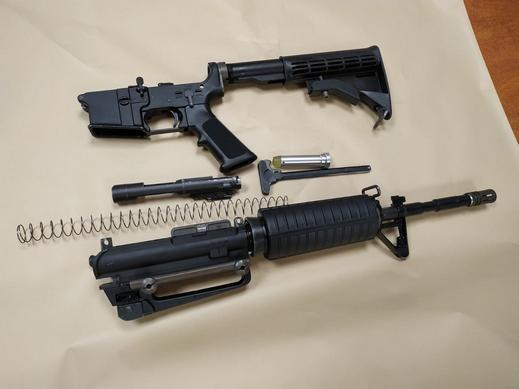 إتهام شاب (36 عامًا) من الضفة بحيازة بندقية M16