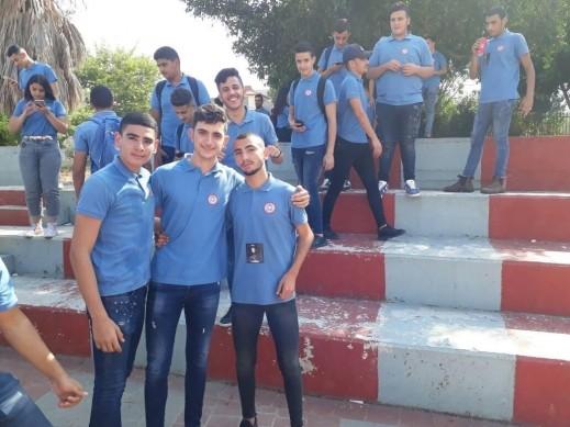 الطالب خالد ابو صالح رئيسا لمجلس الطلاب بمدرسة جمال طربيه