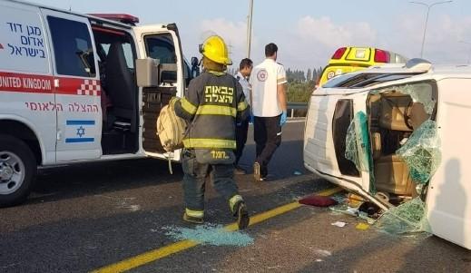 اصابة خمس نساء من باقة بحادق طرق