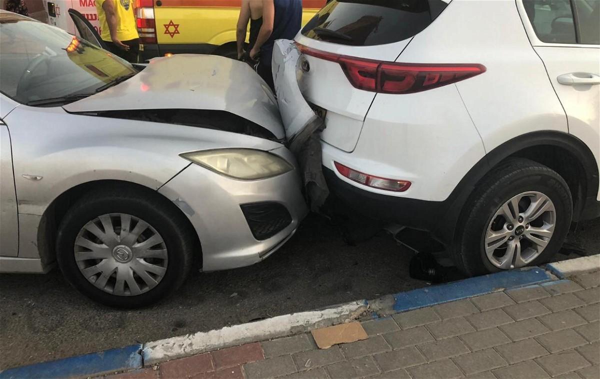 طمرة: اصابة شخصين بحادث طرق