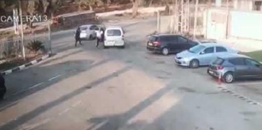 فيديو- توثيق اطلاق النار على شاب في بلدة شعب