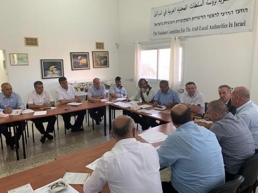 اللجنة القطرية تعرِض مواقفها ومَطالبها أمام الشرطة