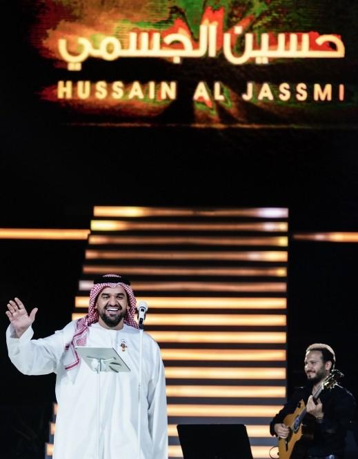 حسين الجسمي ومارايا كاري شريكين إستثنائيين بحفل عالمي